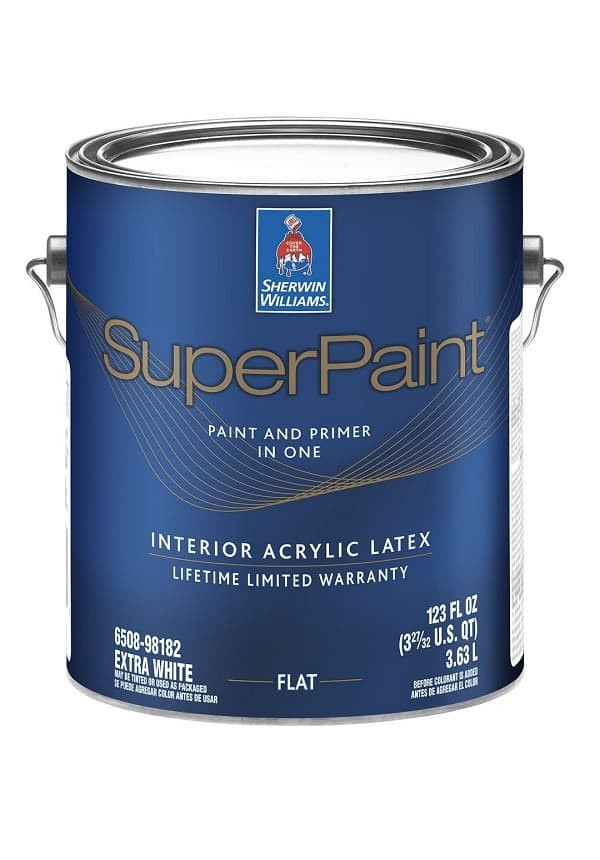 Superpaint Interior Acrylic Latex Paint: SHERWIN WILLIAMS SUPERPAINT INTERIOR ACRYLIC LATEX